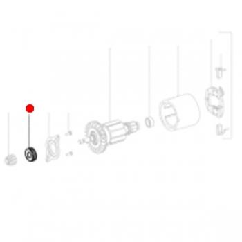 Радиальный шарикоподшипник 8 х 22 х 7 METABO для кромкофрезеров KFM 18 LTX 3 RF (143115060)