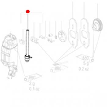 Шток с направляющей METABO для лобзиков STA (316050340)