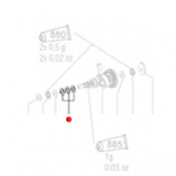 Тарельчатая пружина METABO для перфораторов BHA (141154920)