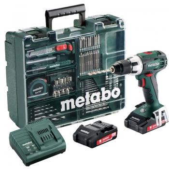Дрель-шуруповерт аккум. METABO BS 18 Set Mobile Worksho