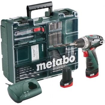 Дрель-шуруповерт аккум. METABO PowerMaxx BS Basic Mobile Workshop NEW