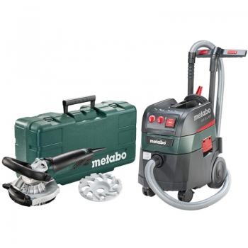 Шлифовальная машина для бетона/камня METABO RS 14-125 Abrasiv + Пылесос ASR 35 L ACP (690883000)