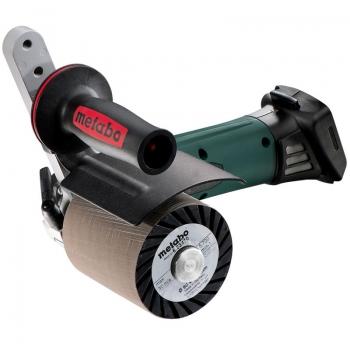 Щеточная шлифовальная машина аккум. METABO S 18 LTX 115 INOX (каркас)