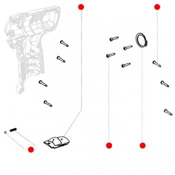 Набор винтов METABO для дрелей-шуруповертов PowerMaxx BS (316047950)