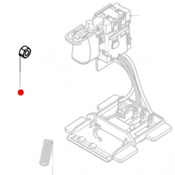 Шестигранная гайка METABO для дрелей-шуруповертов BS, SB; дрелей MAG; ленточных шлифмашин BF (141130090)