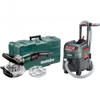 Шлифовальная машина для бетона/камня METABO RSEV 19-125 RT Abrasive + Пылесос ASR 35 L ACP (691002000)