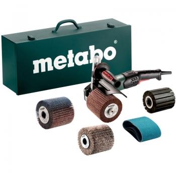 Полировальная щеточная машина METABO SE 17-200 RT Set, набор (602259500)