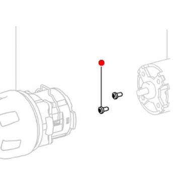 Винты с полупотайной головкой METABO для дрелей-шуруповертов BS 18; BS 14.4; BSP 15.6; GB 18; SB 18; SB 14.4 (141119850)