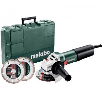 Угловая шлифовльная машина METABO WEQ 1400-125 WEQ 1400-125 Set (600347510)