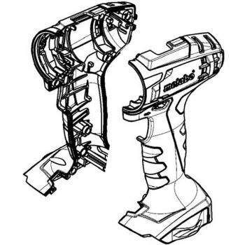 Корпус с крышкой METABO для дрелей-шуруповертов BS 18; BS 14.4; SB 18 (315014980)