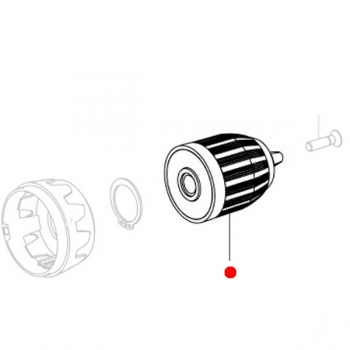 Безключевой патрон 0,8 - 10 мм METABO для дрелей-шуруповертов BS 12 NiCd (301003280)