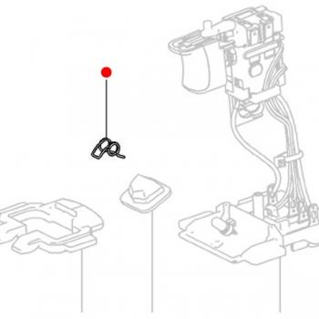 Пружинный зажим METABO для дрелей-шуруповертов BS; SB; SBZ 14.4, ударных гайковертов (342021670)