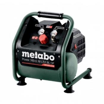 Аккумуляторный безмасляный компрессор Metabo Power 160-5 18 LTX BL OF (601521850)