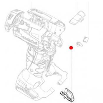 Крюк крепежный METABO для ударных гайковертов SSD 18 LT (316052120)