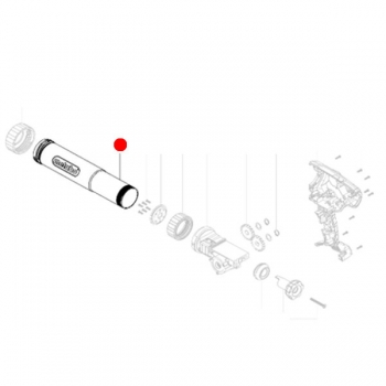 Капсульный держатель METABO для картриджных пистолетов KPA 18 LTX (315418210)