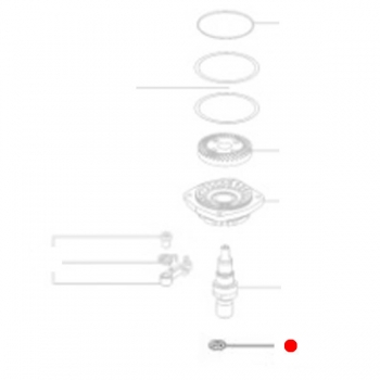 Круглое кольцо METABO для угловых шлифмашин W 18 LTX  (143192540)