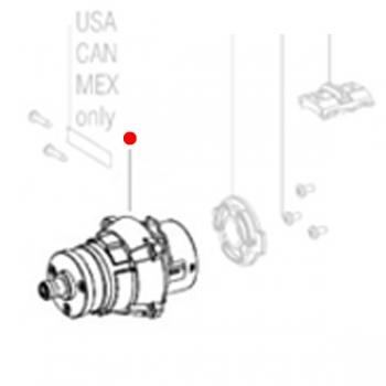 Редуктор в сборе METABO для ударных дрелей-шуруповертов SB 18 (316053420)