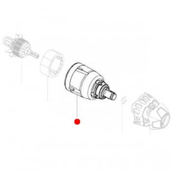 Редуктор в сборе METABO для ударных гайковертов SSW 18 LTX 200 (316053180)