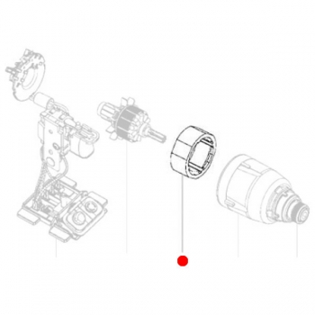 Статор METABO для ударных гайковертов SSD (311011870)