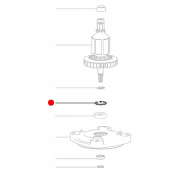 Стопорное кольцо METABO для дрелей MGA 28 LTX 32 (141180350)