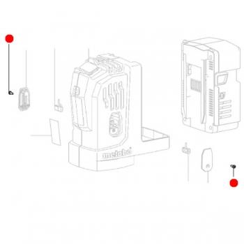 Винт со сферо-цилиндр.головкой METABO для дрелей MAG; угловых шлифмашин (141119900)