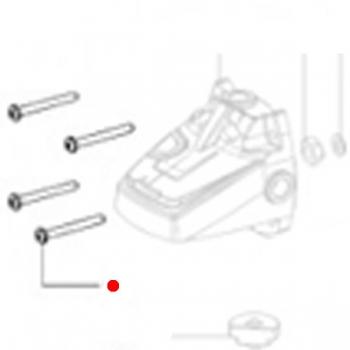 Винт со сферо-цилиндр.головкой METABO для угловых шлифмашин WPB 36 LTX BL (141120560)