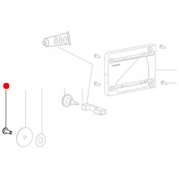 Винты с полупотайной головкой METABO для дрелей MAG 28 LTX 32 (141113080)
