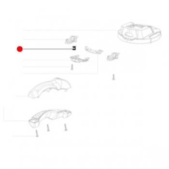 Пружинный зажим METABO для  дрелей-миксеров (342021670)