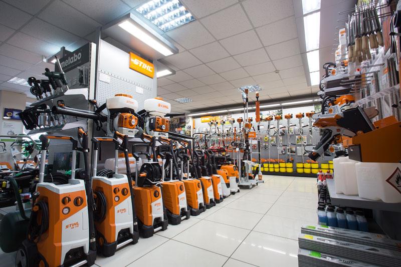 Инструмент и техника Stihl в магазине компании КХК